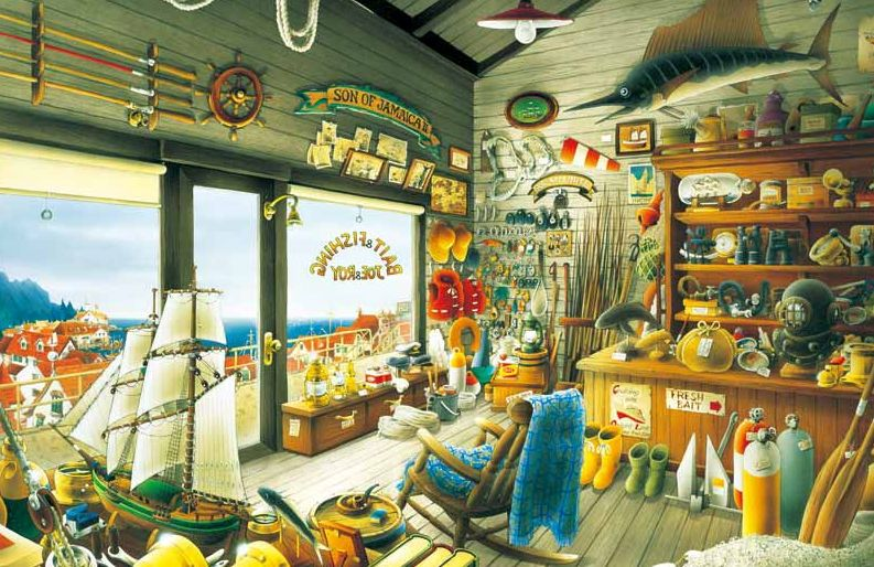 ジョー&ロイの釣具店